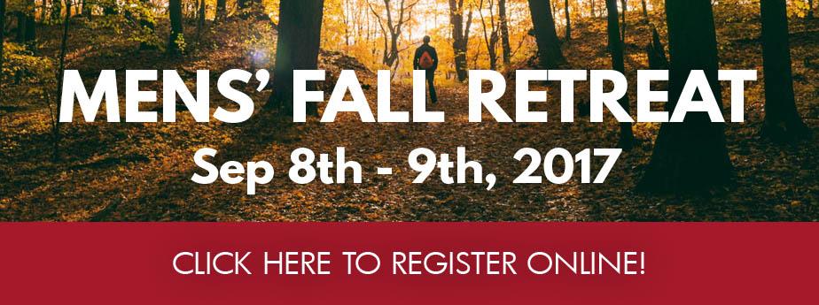 Mens' Fall Retreat 2016